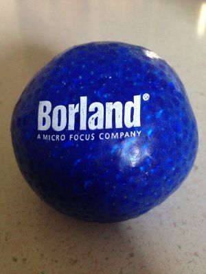 Borland Software Swag Ball